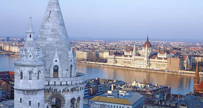 Enjoy stunning views of Budapest when you book a Danube view room