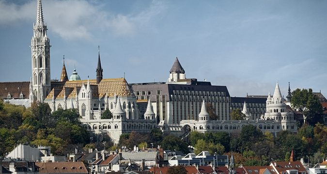 Hilton Budapest from Pest side